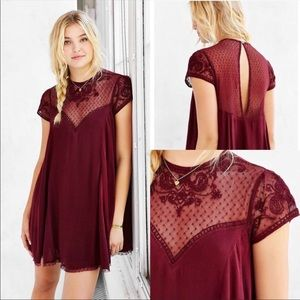 Kimchi Blue | Lily Embellished Trapeze Dress